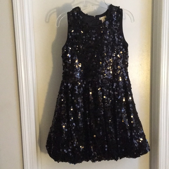 85fb0d1e8fe0 Children's Place Dresses | Big Girls Black Sequin Dress | Poshmark